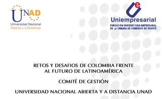 """Libro """"Retos y Desafíos de Colombia frente al futuro de America Latina"""""""