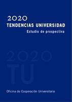 Portada libro 2020 Tendencias Universidad. Estudio de prospectiva