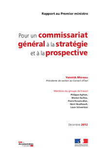 Rapport Commissariat general strategie et prospective