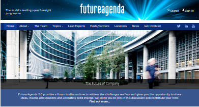 Future Agenda 2.0: nuevo programa de la iniciativa Future Agenda
