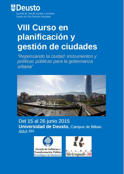 Prospectiva Territorial y Estratégica en el Curso en Planificación y Gestión de Ciudades